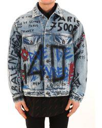 Balenciaga - Graffiti Jacket - Lyst