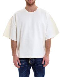 Jil Sander - Short Sleeved Sweatshirt - Lyst