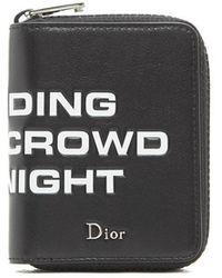 Dior Homme - Slogan Zip Wallet - Lyst