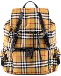 Burberry - Vintage Check Backpack - Lyst