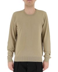 Maison Margiela - Elbow Patches Knit Sweater - Lyst