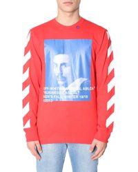 Off-White c/o Virgil Abloh - Bernini Print Sweatshirt - Lyst
