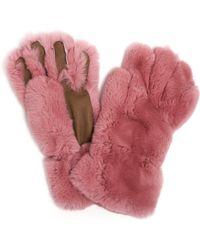 Marni - Fur Gloves - Lyst