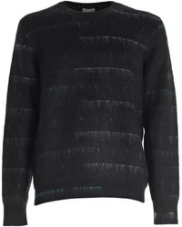 Dior Homme - Stripe Effect Knit Jumper - Lyst