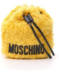 Moschino - Mohair Bucket Bag - Lyst