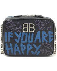 Balenciaga - Graffiti Reporter Crossbody Bag - Lyst