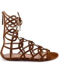 Aquazzura - Mumbai Gladiator Sandals - Lyst