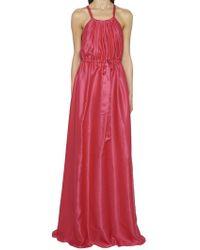 Lanvin - Gathered Waist Gown - Lyst