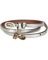 Alexander McQueen - Skull Charm Wrap Bracelet - Lyst