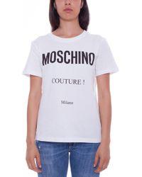 Moschino - Logo T-shirt - Lyst