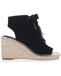 Chloé - Harper Wedge Sandals - Lyst