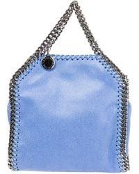 Stella McCartney Mini Falabella Tote Bag - Blue
