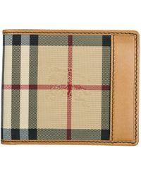Burberry - Horseferry Check Billfold Wallet - Lyst