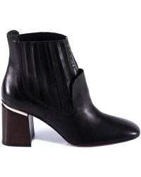 Tod's - Heeled Ankle Boots - Lyst