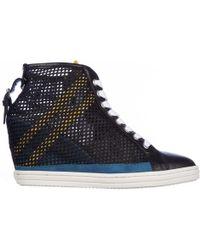 Hogan Rebel - Heeled Sneakers - Lyst