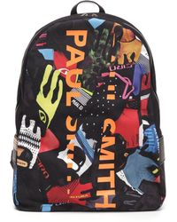 Paul Smith - Graphic Print Backpack - Lyst