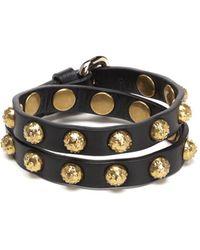 RED Valentino - Dot Stud Double Wrap Bracelet - Lyst