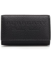 Burberry - Logo Embossed Long Key Pouch - Lyst