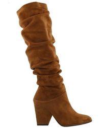 Stuart Weitzman - Smashing Suede Boots - Lyst