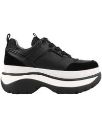 Michael Kors - Michael Felicia Flatform Dad Sneakers - Lyst