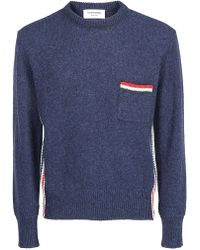 Thom Browne - Striped Pocket Pullover - Lyst
