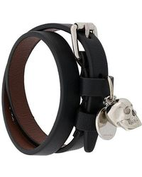 Alexander McQueen - Skull Wrap Bracelet - Lyst