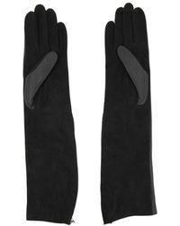 Lanvin - Long Silk Gloves - Lyst