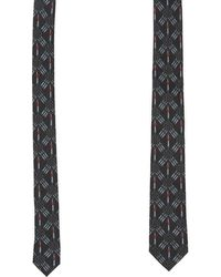 Valentino - Embroidered Tie - Lyst