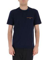 Prada - Chest Pocket T-shirt - Lyst