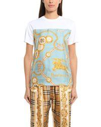 Burberry - Sherwood Pattern T-shirt - Lyst