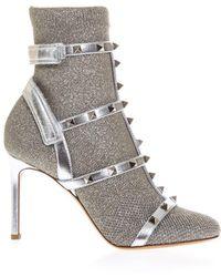 Valentino - Garavani Love Latch Boots - Lyst