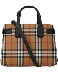 Burberry - Small The Banner Tote Bag - Lyst