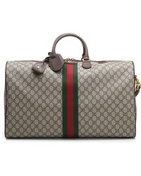Gucci - Large Ophidia GG Supreme Carry-on Bag - Lyst