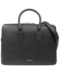 Alexander McQueen - Round Handle Laptop Briefcase - Lyst
