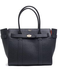 Mulberry - Zipped Bayswater Tote Bag - Lyst