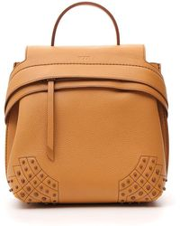 Tod's - Wave Studded Backpack - Lyst