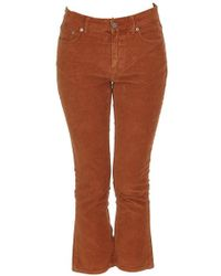 Department 5 - Cropped Flared Pants - Lyst