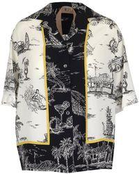 N°21 - Printed Bowling Shirts - Lyst