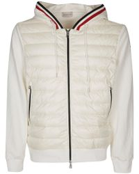 e430cc6f0 Lyst - Moncler Hooded Track Top in Blue for Men