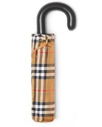 Burberry Trafalgar Chequered Umbrella - Multicolour