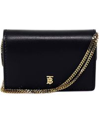 Burberry - Chain Strap Card Case - Lyst