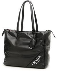 0d74f3aed00e Prada - Padded Shopping Tote Bag - Lyst