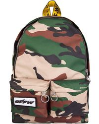 Off-White c/o Virgil Abloh - Camouflage Backpack - Lyst