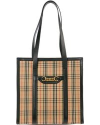 8c83520252 Burberry Small Alchester Bridle House Check Bag - Lyst