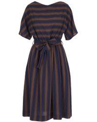 Woolrich - Belted Shirt Dress - Lyst