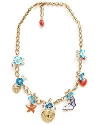 Dolce & Gabbana - Charm Necklace - Lyst