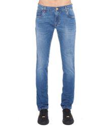 Billionaire - Embroidered Logo Pocket Jeans - Lyst