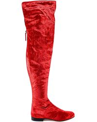 Alberta Ferretti - Over The Knee Boots - Lyst