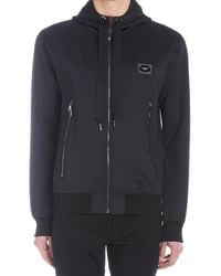 Dolce & Gabbana Logo Embossed Sports Jacket