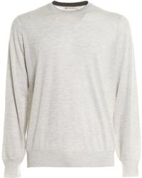 Brunello Cucinelli - Wool Blend Sweater - Lyst